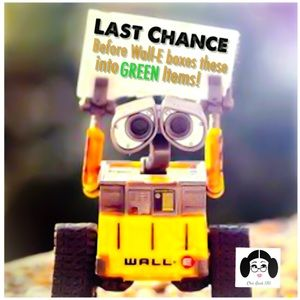 LOOK for Wall-E! ♻️Last Chance Items♻️
